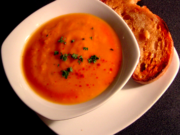 sweet tomatoes soup