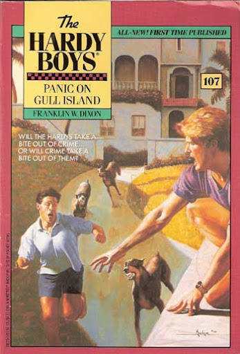 Panic on Gull Island cover