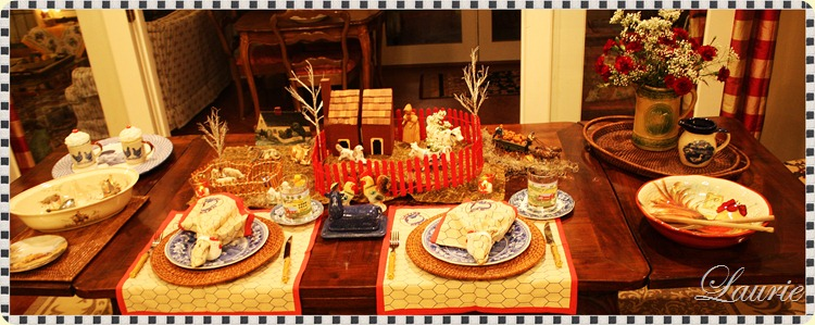 Fall Farm Tablescape