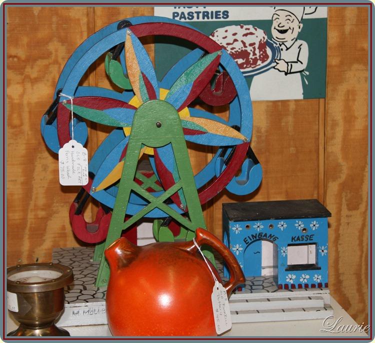 ferris wheel close
