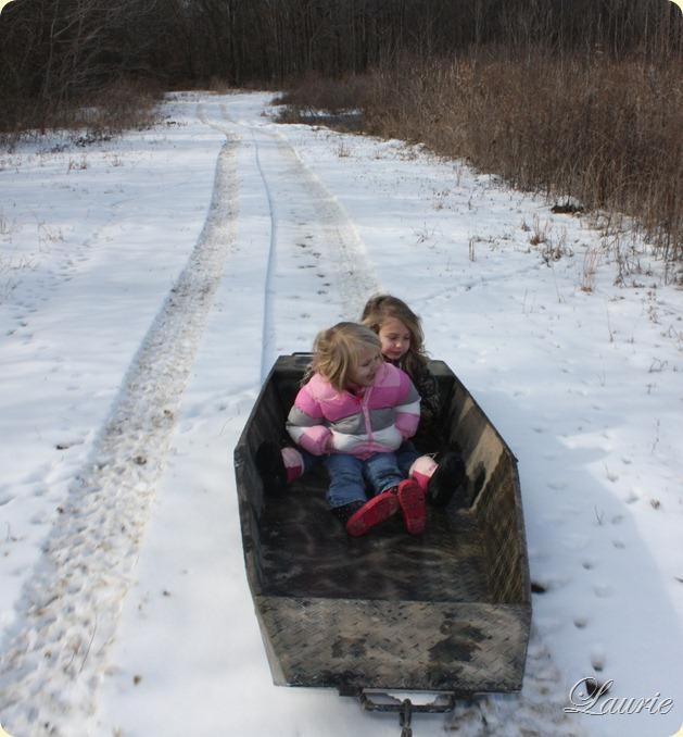 boat sled
