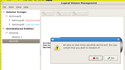 LVM - Are you sure?