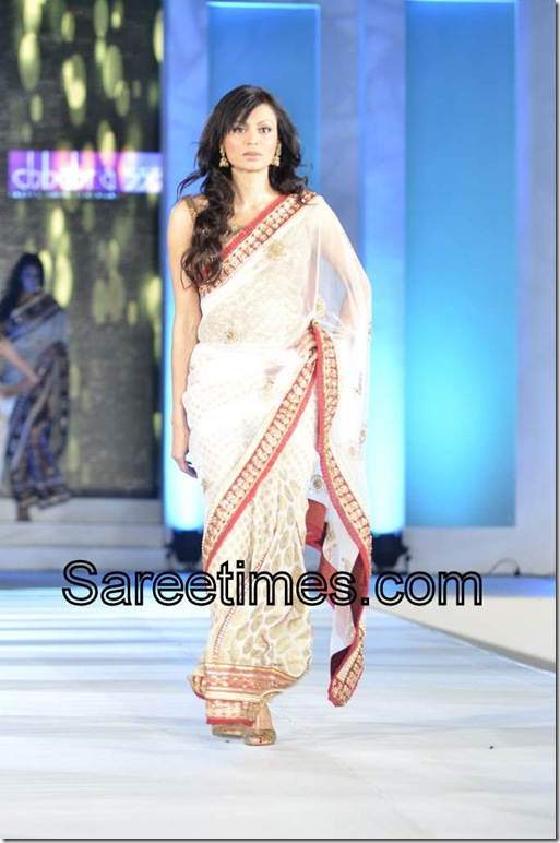 Off_White_Designer_Saree