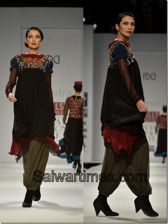 Joy_Mitra_Black_Designer_Salwar_Kameez