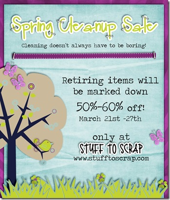 Spring Cleanup Sale