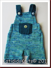 Knit Overalls 031