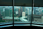 La vue depuis le hall du 41ème étage