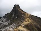 Au sommet du volcan