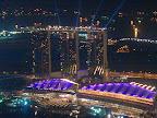 La marina, ses hotels et casinos