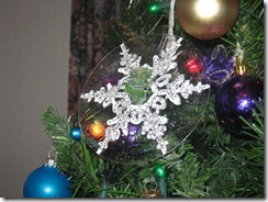 Snowflake Cd ornament