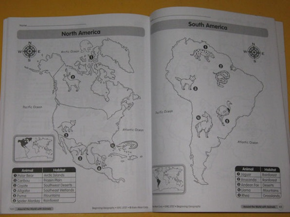 Beginning Geography page 100 - 101