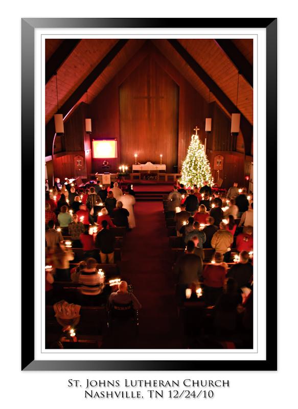Christmas Eve Candle Light