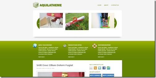 aquila-wordpress-theme