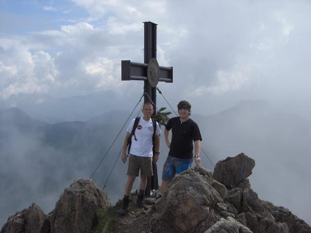 Am Gipfel des Großen Rettenstein