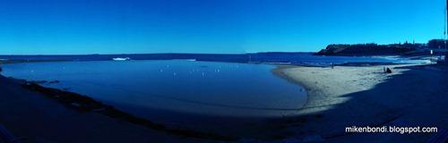 Tidal pool and Newcastle beach