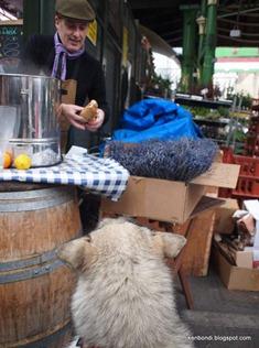 Borough Market lunch