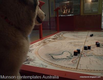 Munson contemplates Australia