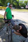 ...nie wypalił i pojechaliśmy na Tour de Kampinos :-)