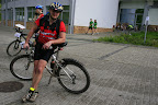 Patrol i jego rower na D. :-)