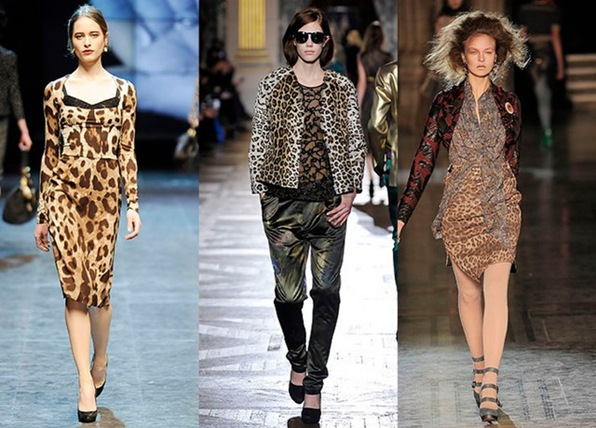 leoparderío d&g , dries van noten, westwood red label