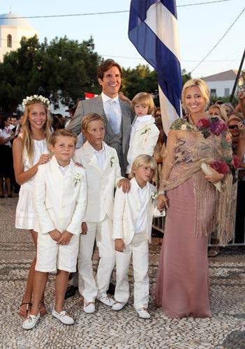 Wedding Prince Nikolaos Miss Tatiana Blatnik F33I5ZQdSD8l