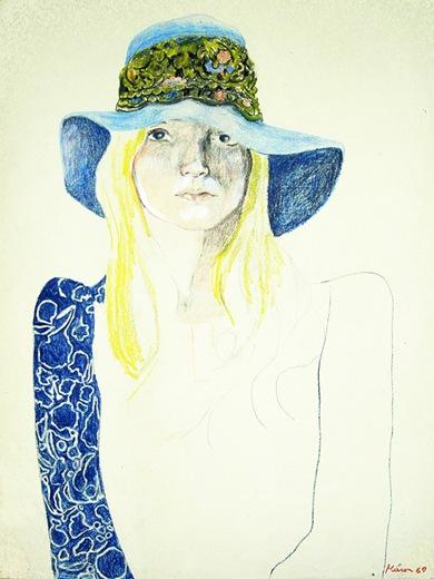 blue hat_gt