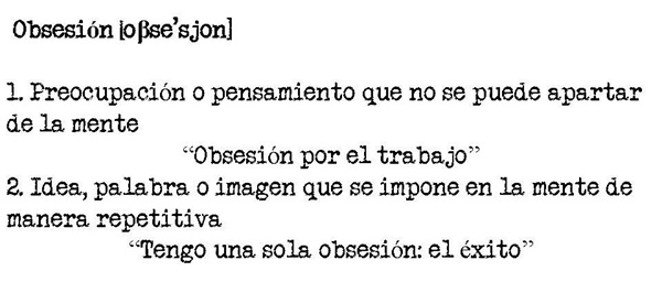 obsesion