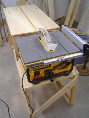 table saw outfeed table