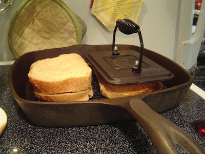 image of panini being made