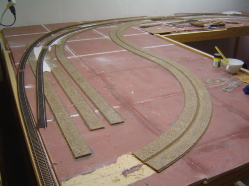 image of model railroad