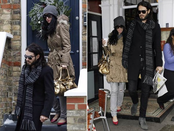katty Perry y Russell Brand