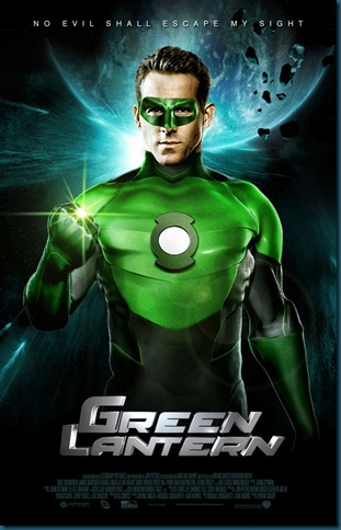 green lantern fan made