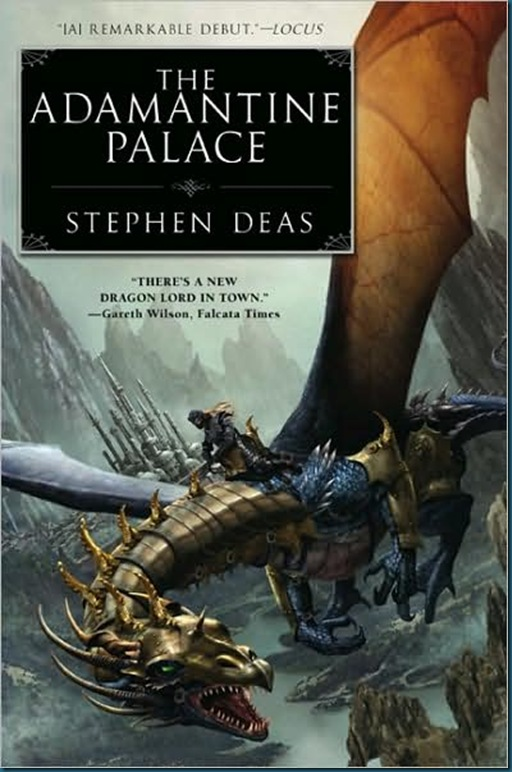 The Adamantine Palace Cover