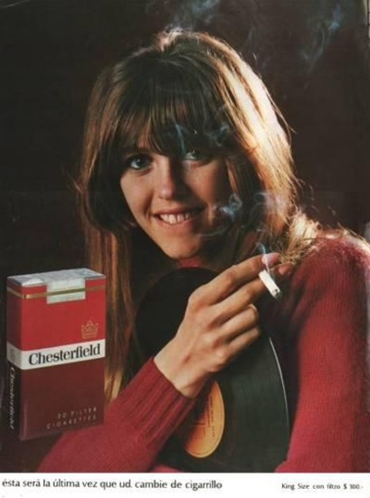 Publicidad Chesterfield 1967