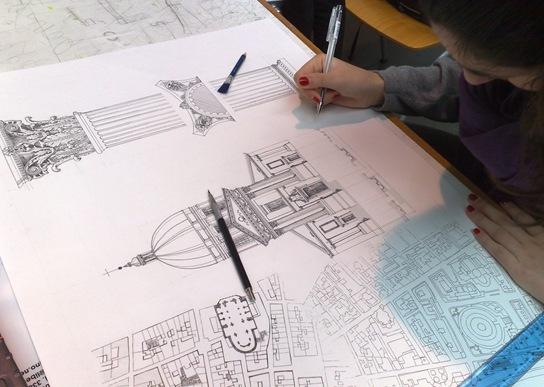 100disegni 01 03 10 for Disegno del piano di architettura
