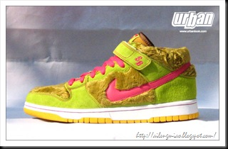 Nike Dunk Low Baby Bear Yellow