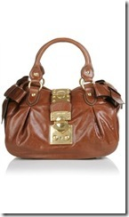 Miu Miu Vitello Lux Brown bag