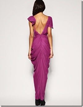 Heavy Draped Maxi Dress1