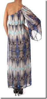 One shoulder tribal maxi1