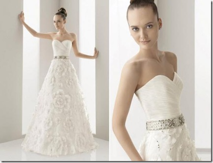 Spring 2011 Wedding Dresses from Aire Barcelona
