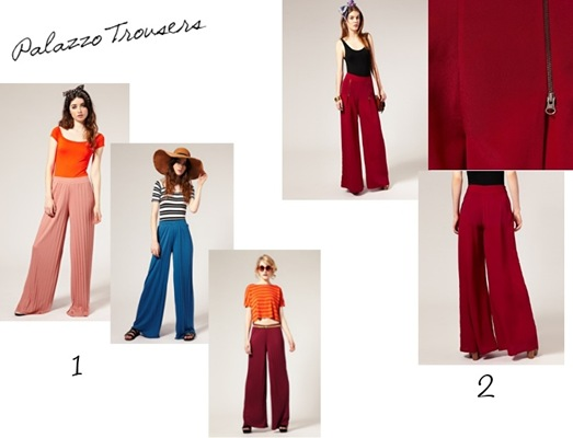 Palazzo - Colour Blocking