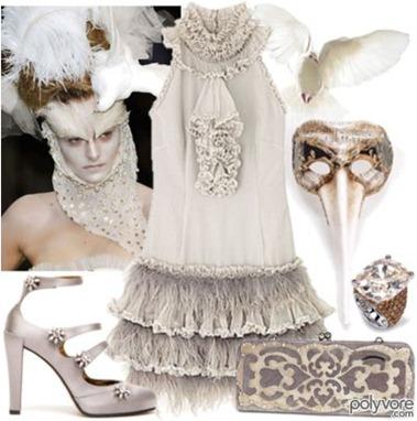 Polyvore masquerade