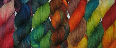 Januar-Färbung Sockenwolle 2.2.