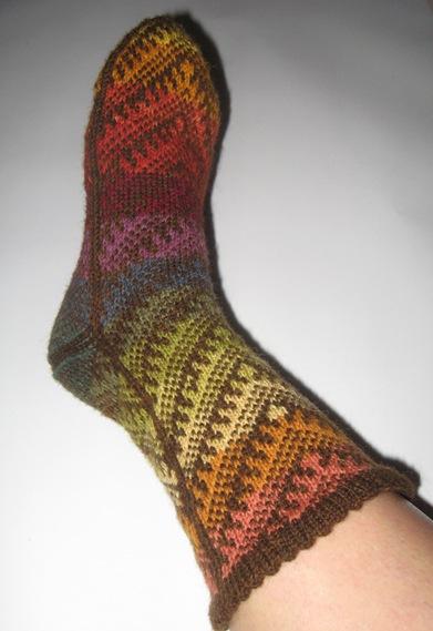 Türkische Socke Nr. 1