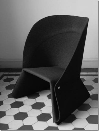 The COAT Chair by Fredrik Färg