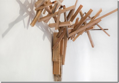 The Hunter sculptural coat hanger1