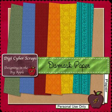 http://www.digicyberscraps.com/2009/09/damask-paper-pack-freebie.html