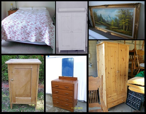 Bedroom Befores Collage