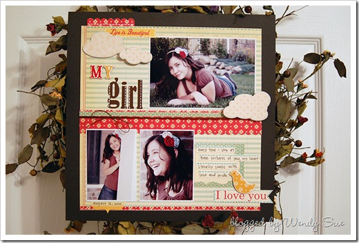 my_girl_faux_stitching_layout