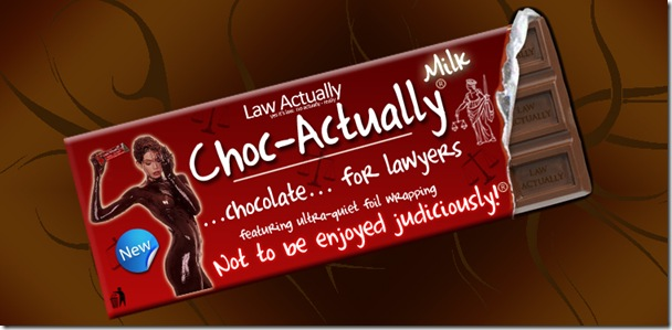 choc-actually chocolate for lawyers